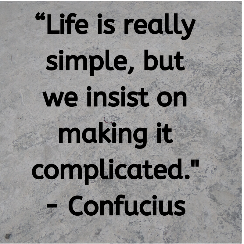 Inspirational Life Quotes And Thoughts About Life Is Really Simple Life Status Inspiring Quotes About Life Life Thoughts