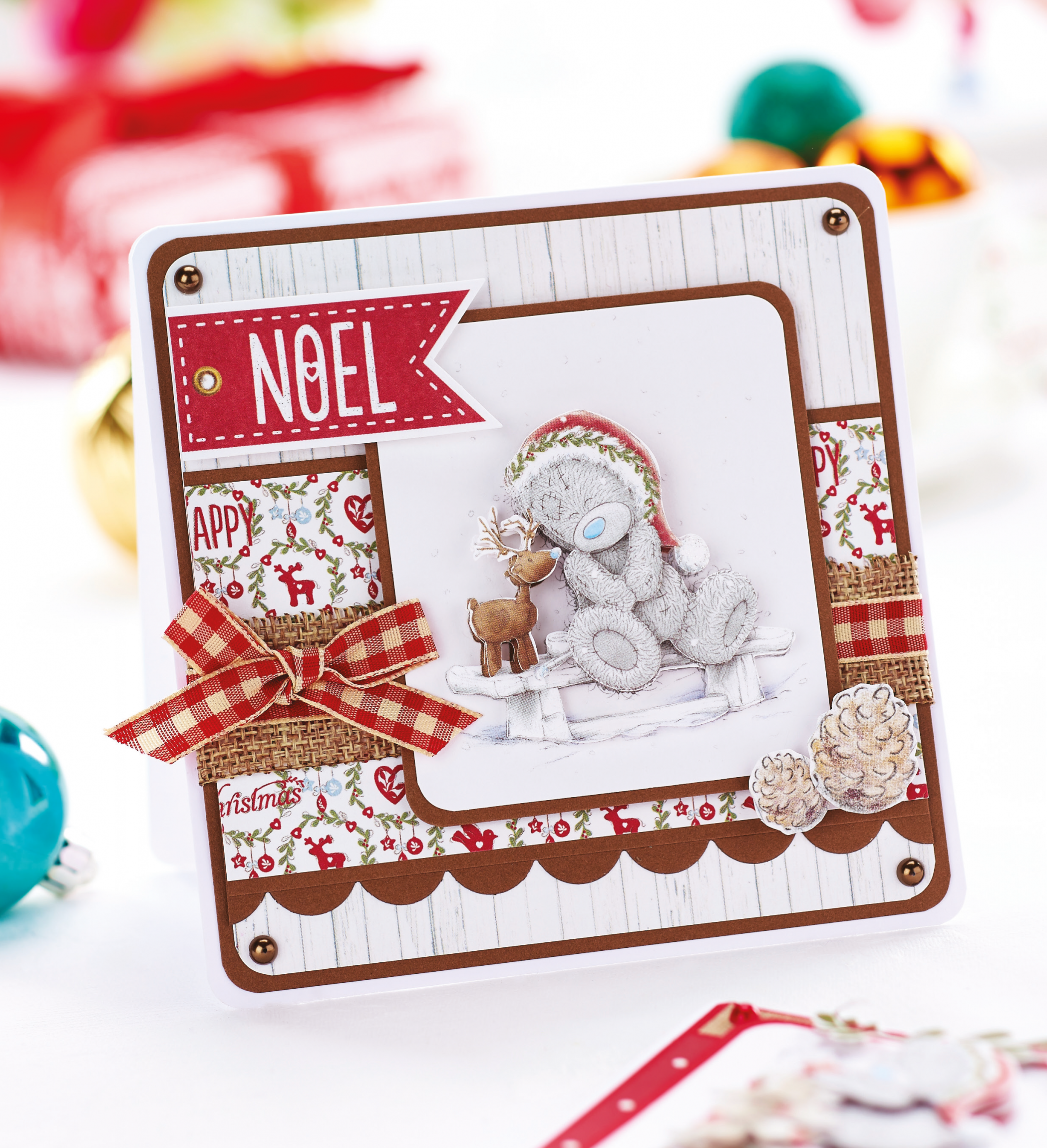 Christmas Card Making Ideas Free Part - 35: Download A Free Me To You Tatty Teddy Christmas Card From Our Latest  November Issue!