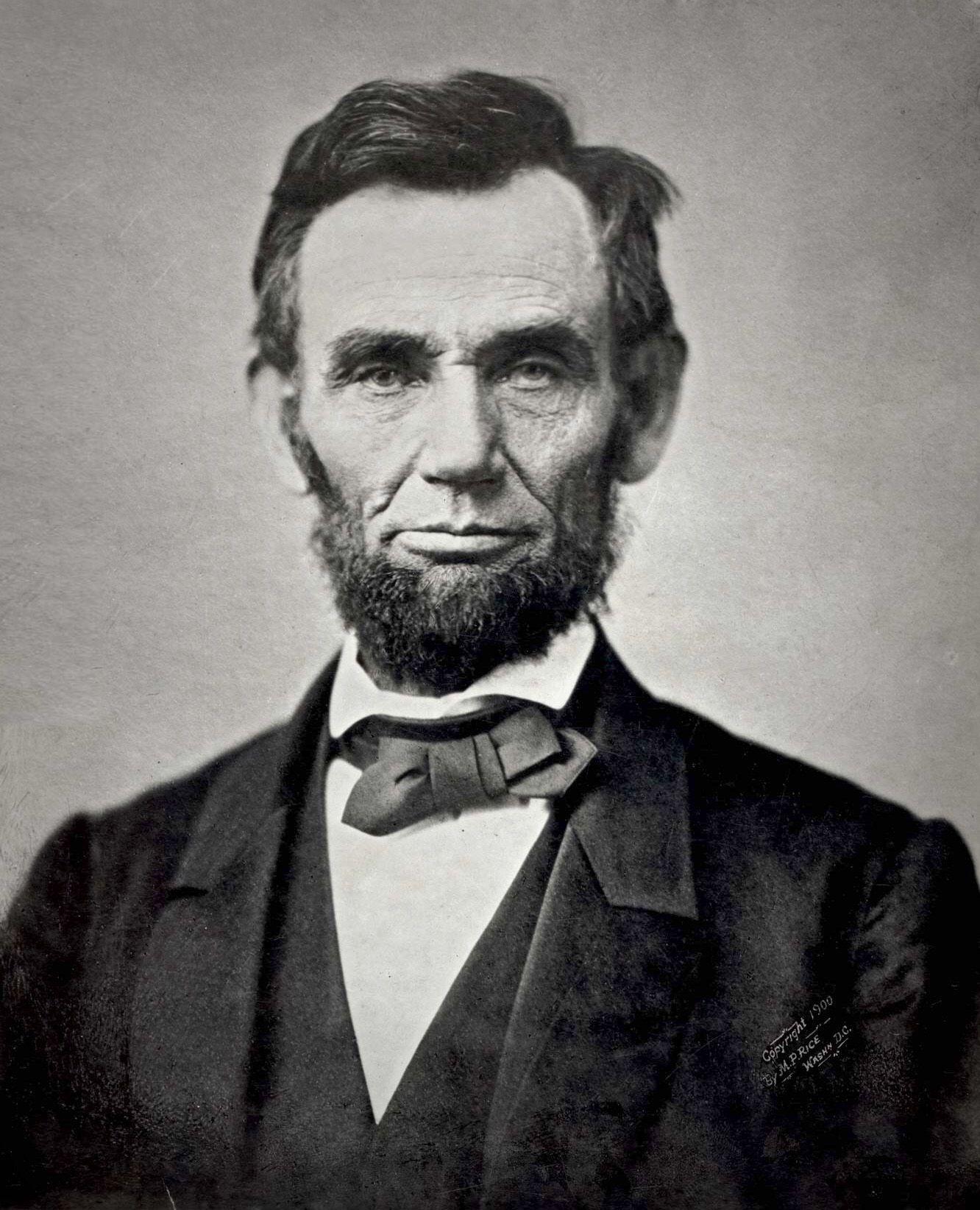 Abolish Slavery 1865 (Abraham Lincoln) Iconic Black And White Photograph