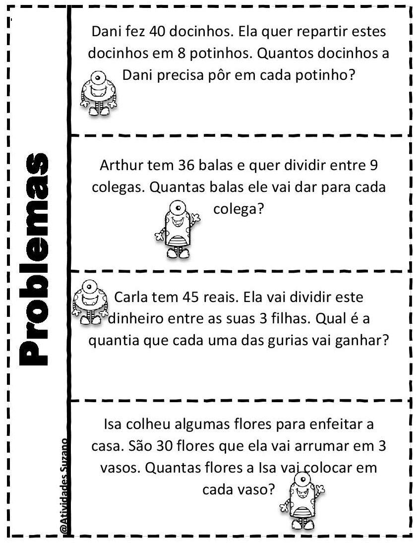 Problemas Interativos Atividades De Matematica Atividades