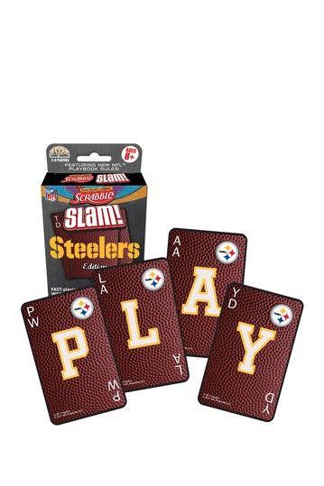 the best attitude ca075 6304f Pittsburgh Steelers NFL Scrabble Slam! Card Game | Fun ...