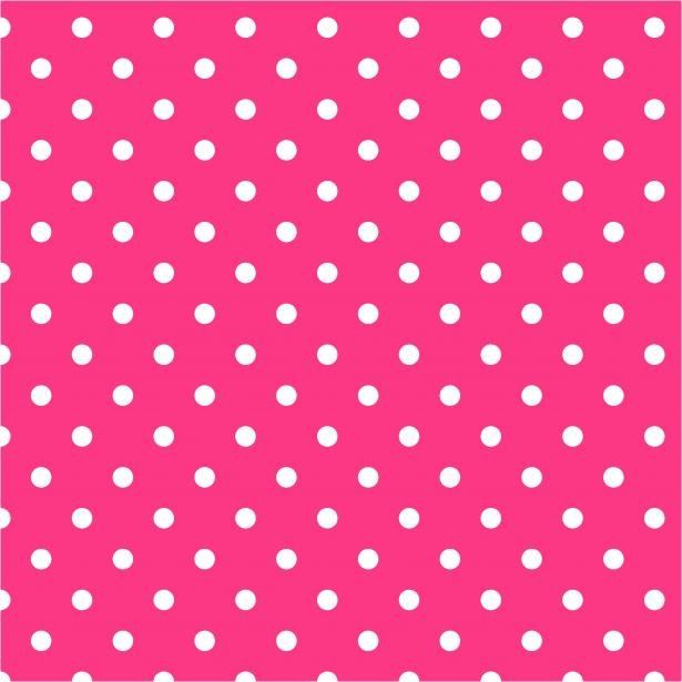 Pink/white polka dots Backgrounds in 2019 Pink polka dots