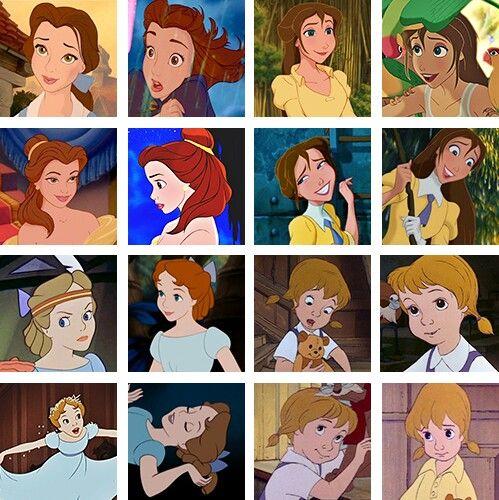 Brown Haired Disney Girls Disney Disney Pixar Disney Girls