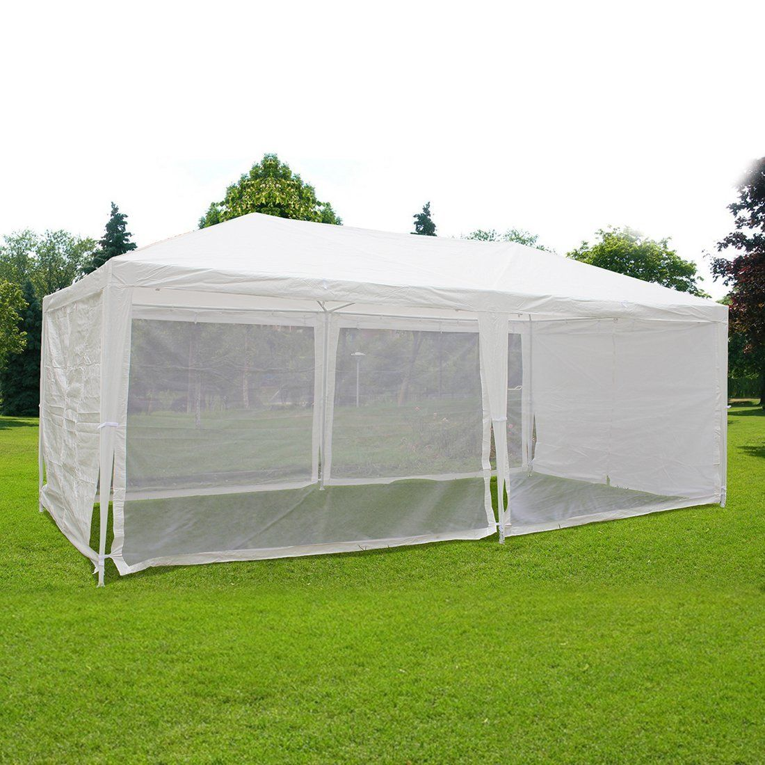 AmazonSmile  Quictent 10X30 Outdoor Canopy Gazebo Party Wedding tent Screen House Sun Shade Shelter with  sc 1 st  Pinterest : 10x30 wedding tent - memphite.com
