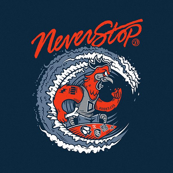 NEVER STOP on Behance