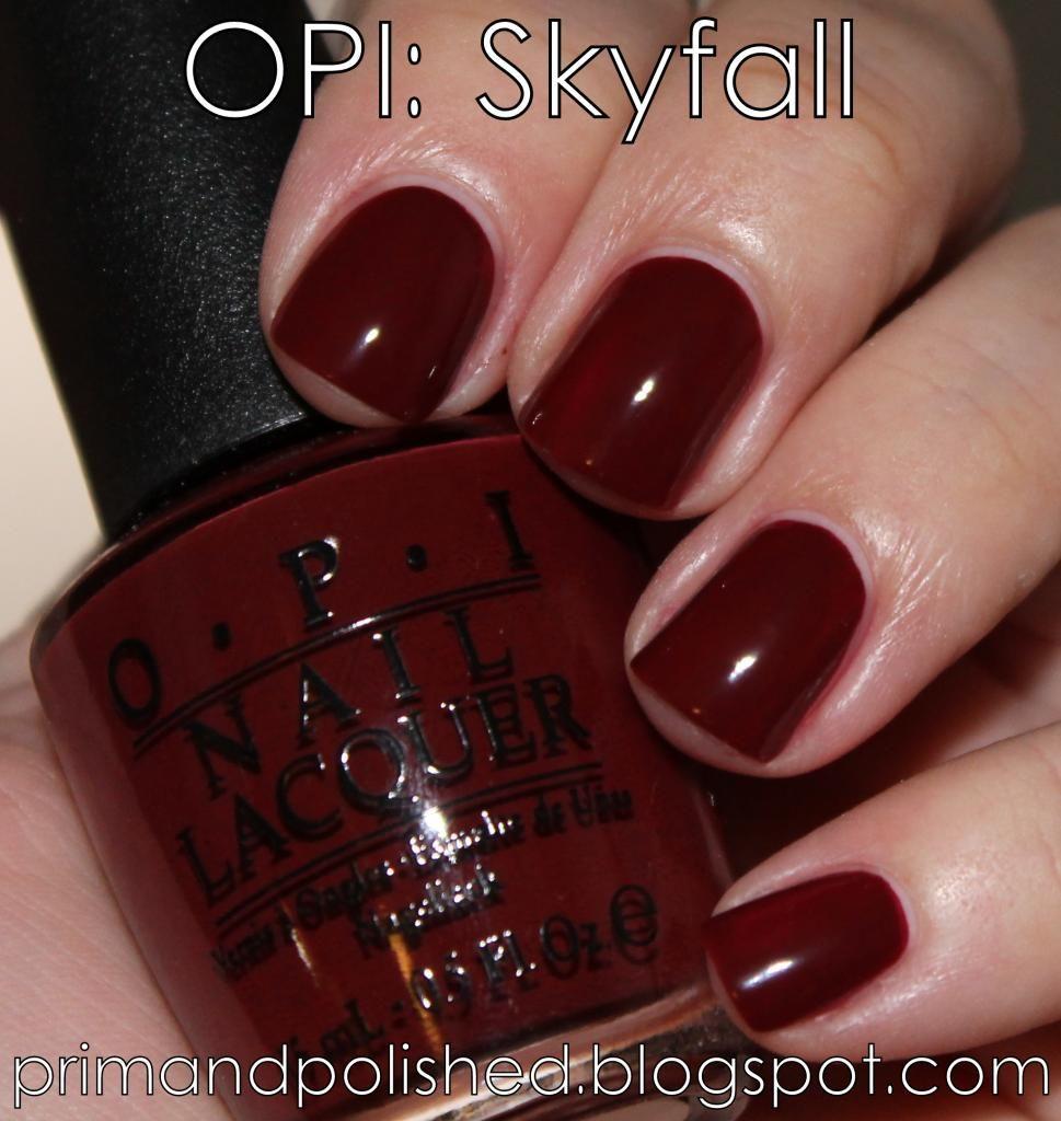 Photobucket   Oxblood Red - Fall Fashion   Pinterest   OPI