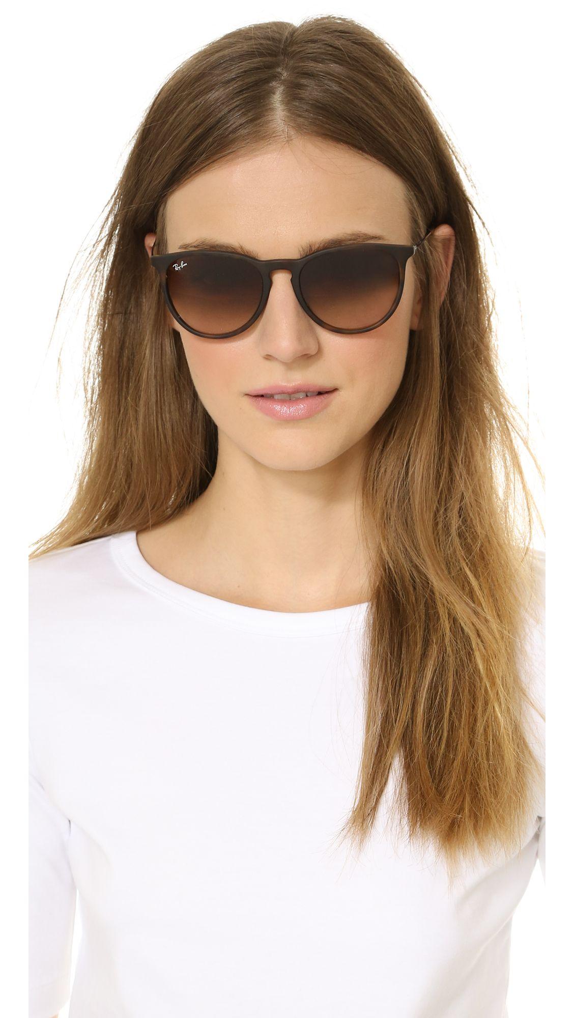 ray ban erika sunglasses sand  erika sunglasses. rayban