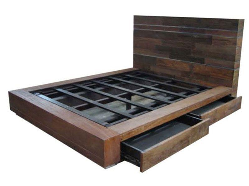 This Side Up Repurposed Wood Furniture Camas Metálicas Muebles Cama Muebles Hierro Y Madera