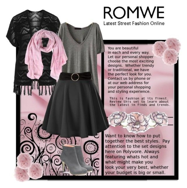"""""""Romwe contest"""" by haz94styles ❤ liked on Polyvore featuring Verpass, MANGO, Fleur du Mal and Universal Lighting and Decor"""
