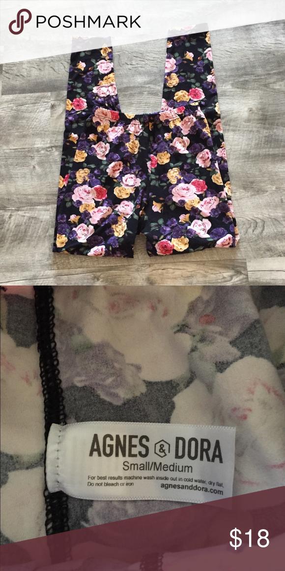 Agnes And Dora Floral Leggings Clothes Design Outfits