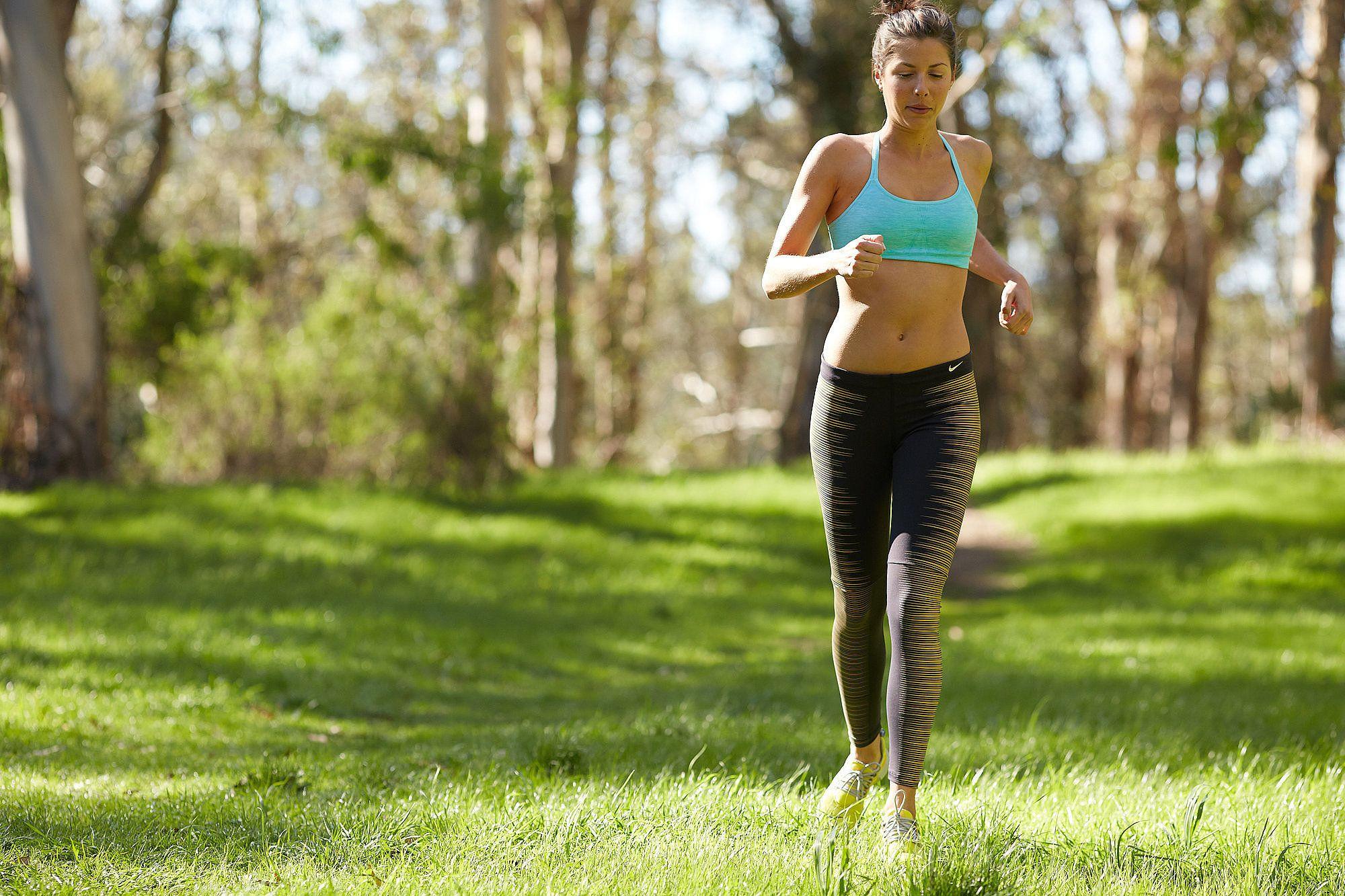 как сбросить вес бегом