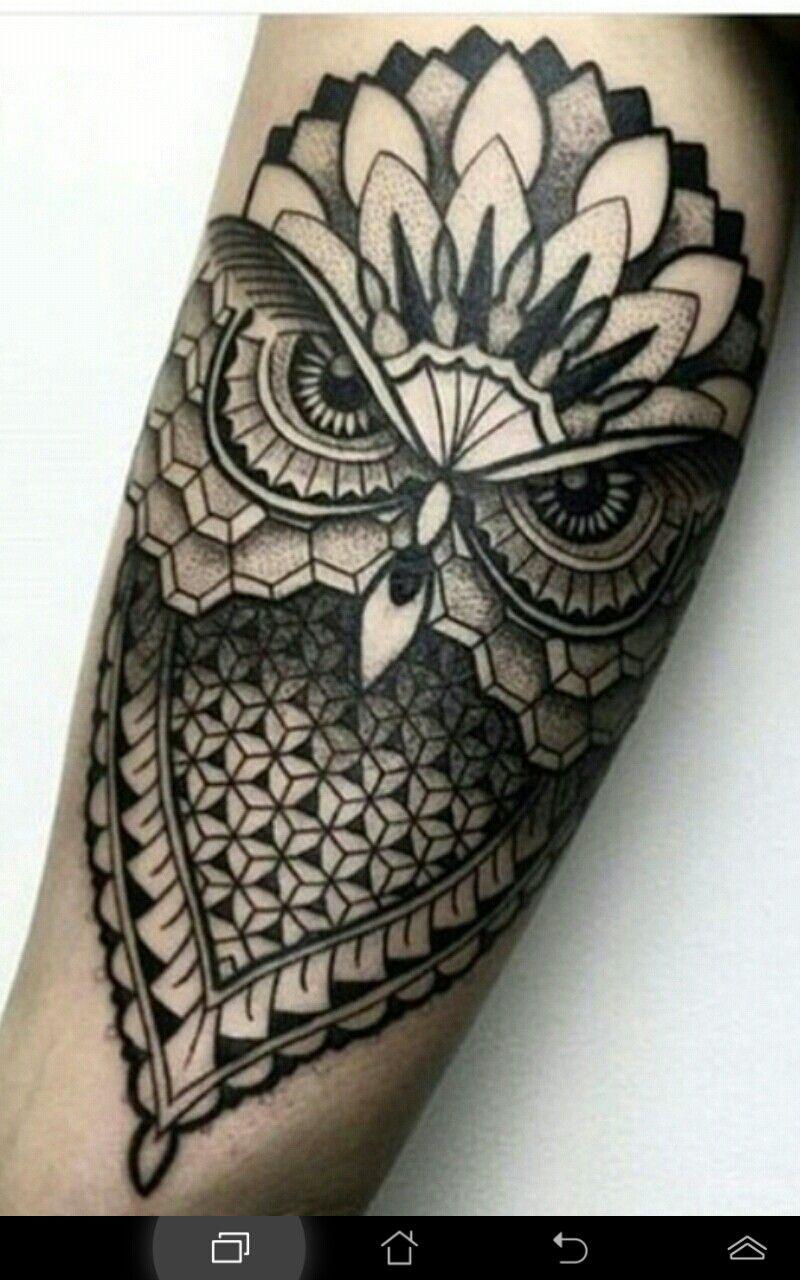 Buho Tatuaje Mandala pin de pedro en mandala   tattoos mandalas, tattoo chiquitos