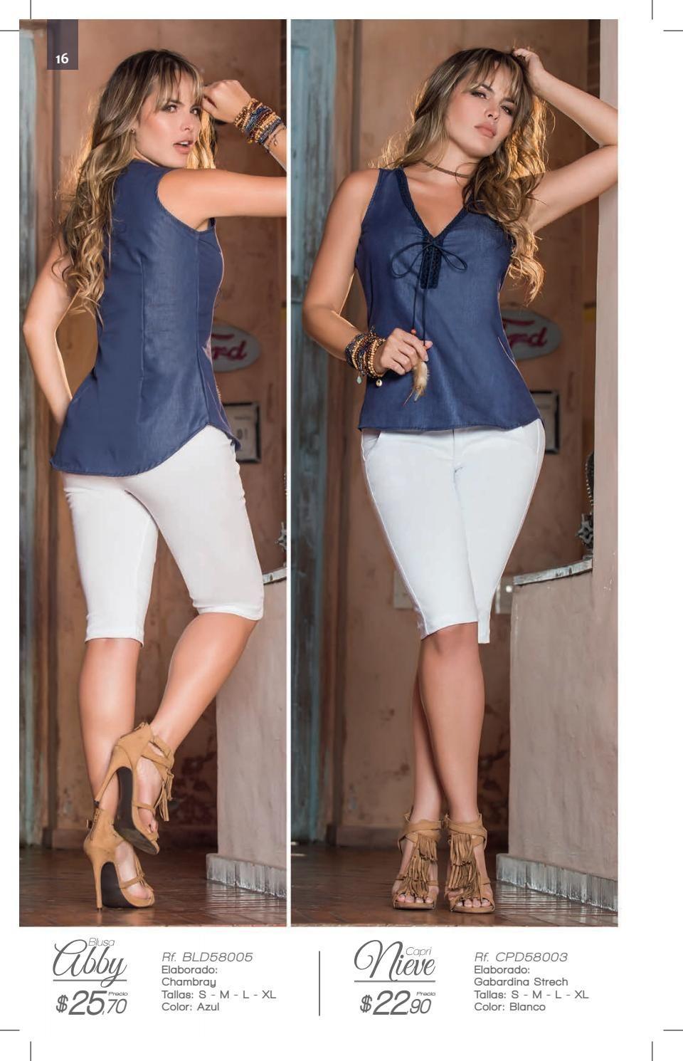 Jolie Ecuador C7 2016 Ropa Catalogos De Ropa Camisa De Moda