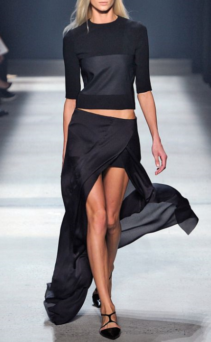 Narciso Rodriguez spring 2014, from Iryna
