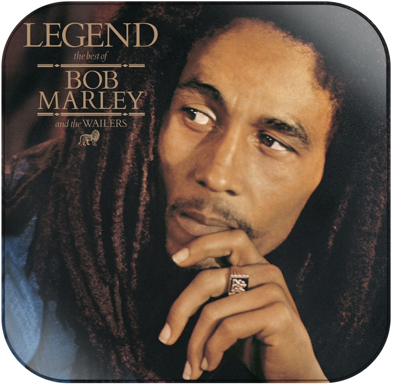 8d16af25e61 Bob Marley and the Wailers Legend Album Cover Sticker in 2019 ...