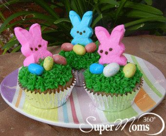 Easy easter cupcakes easter cupcakes easter and recipes easy easter cupcakes negle Images