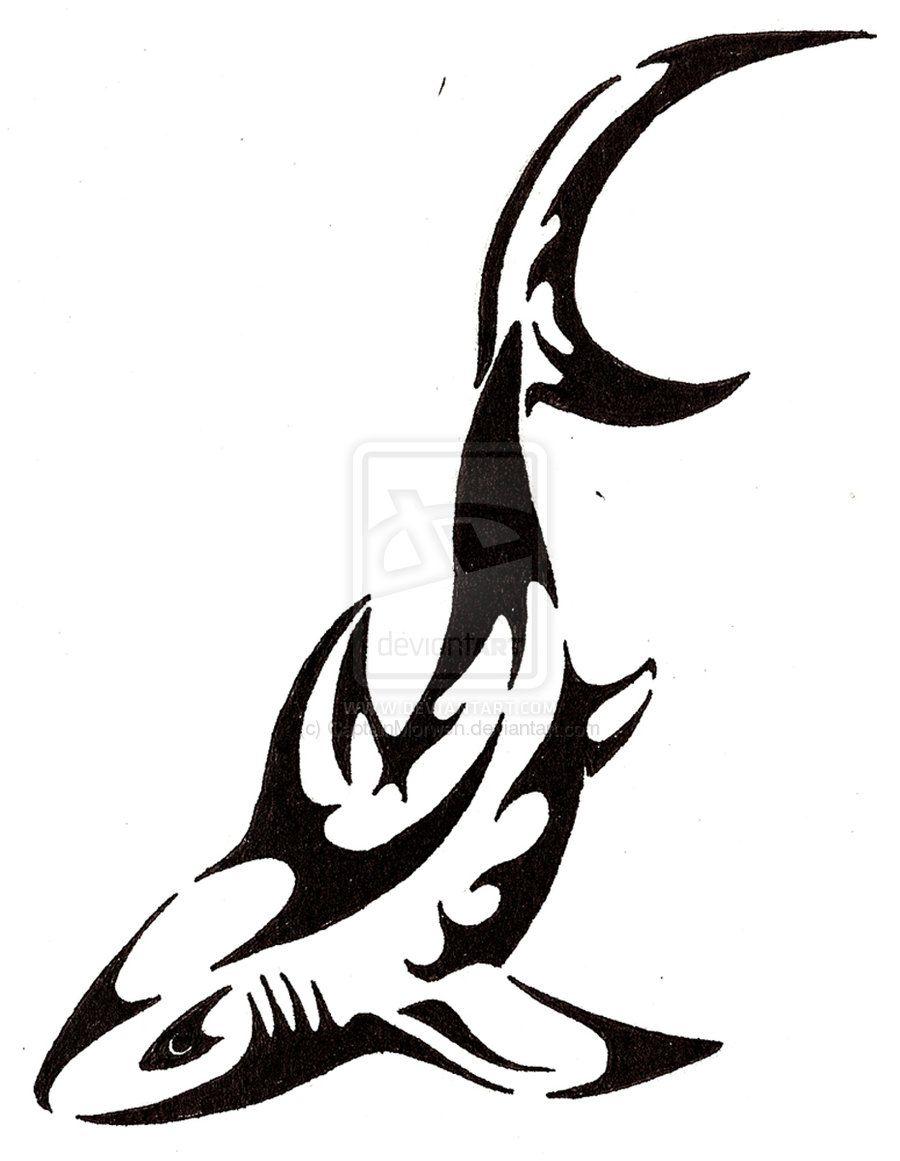 Shark Tattoos Designs Shark Tattoo By Captainmorwen Designs