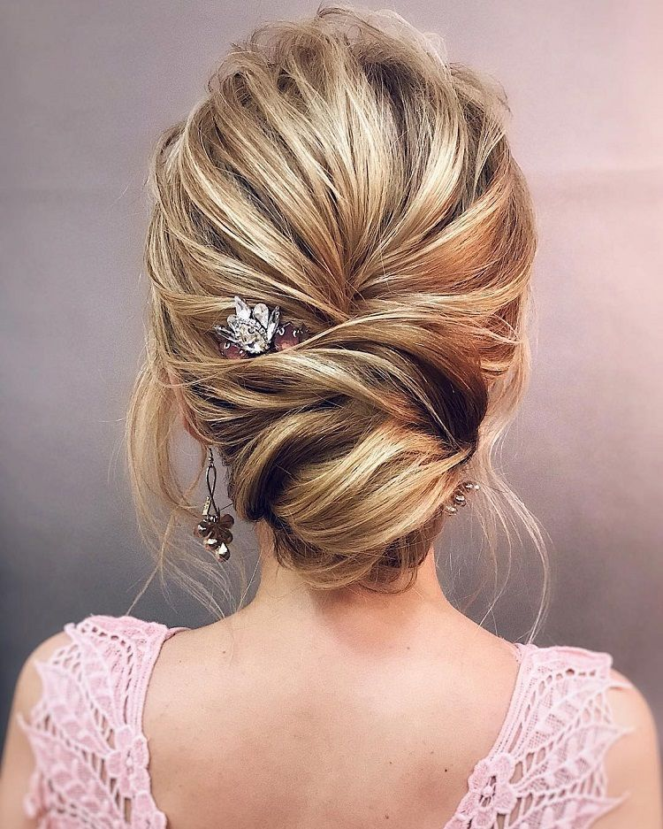 Gorgeous Wedding Updo Hairstyle To Inspire You Pinterest Messy