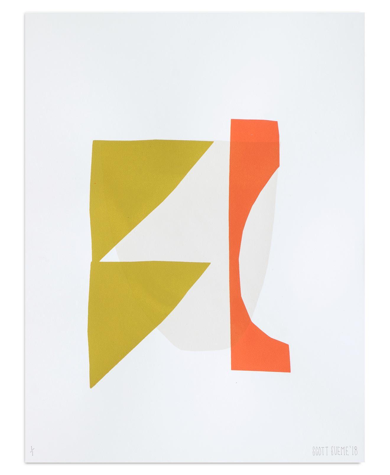 Worksheet 20 By Scott Sueme Acrylic On Screenprint And