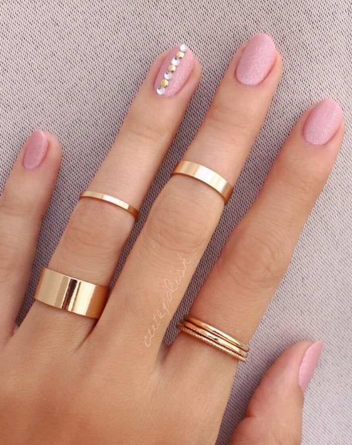 20 Pink and Pretty Nail Design Ideas - Doozy List #accessories