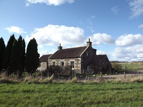 A friend's 1854 former Blacksmith's cottage, Scotland