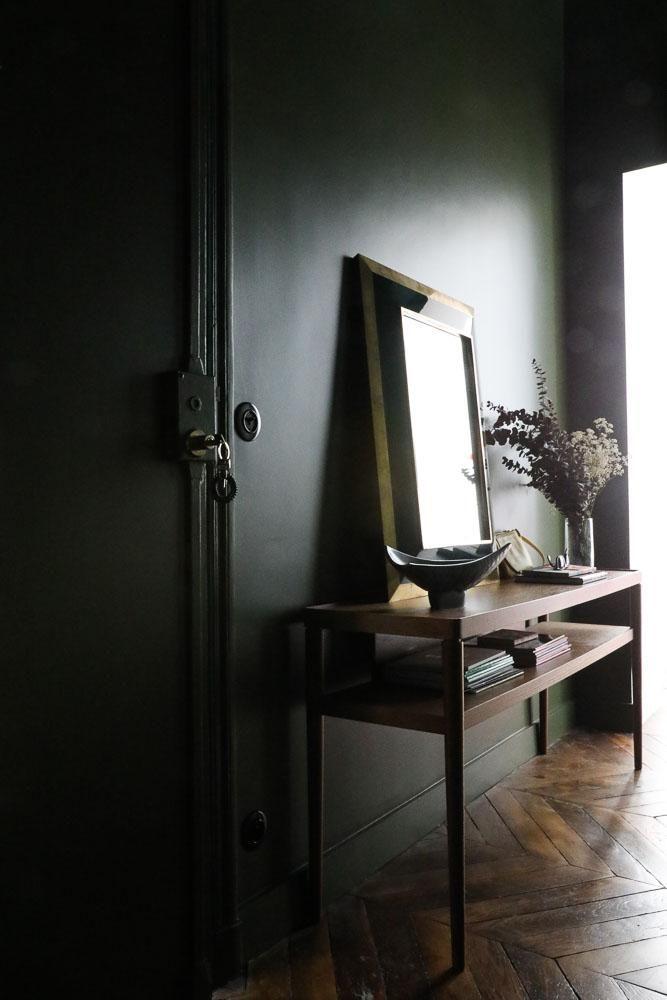 Stéphanie Lizée et Franck, Pablo 2 ans Interiors, House entrance - idee peinture entree couloir
