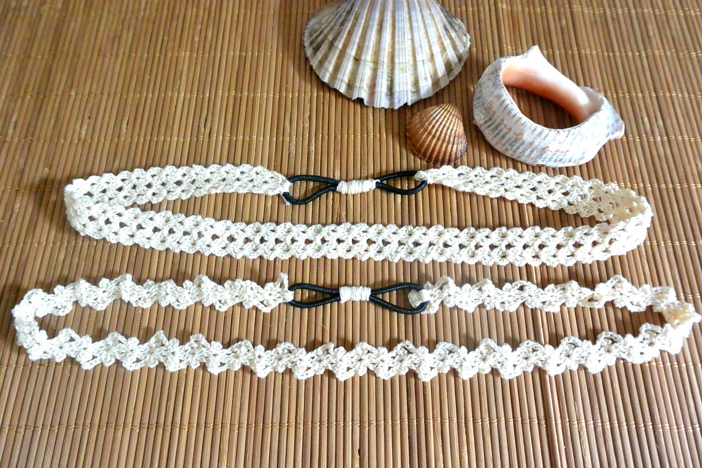 Crochet headbands | Haarschmuck, Häkeln und Stirnband