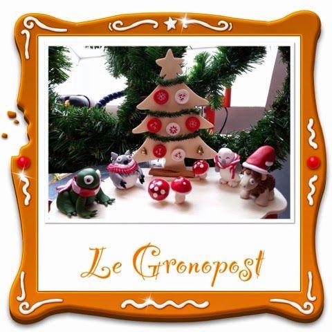 Le Grono Post: Fimo & chantournage = Joyeux Anniversaire
