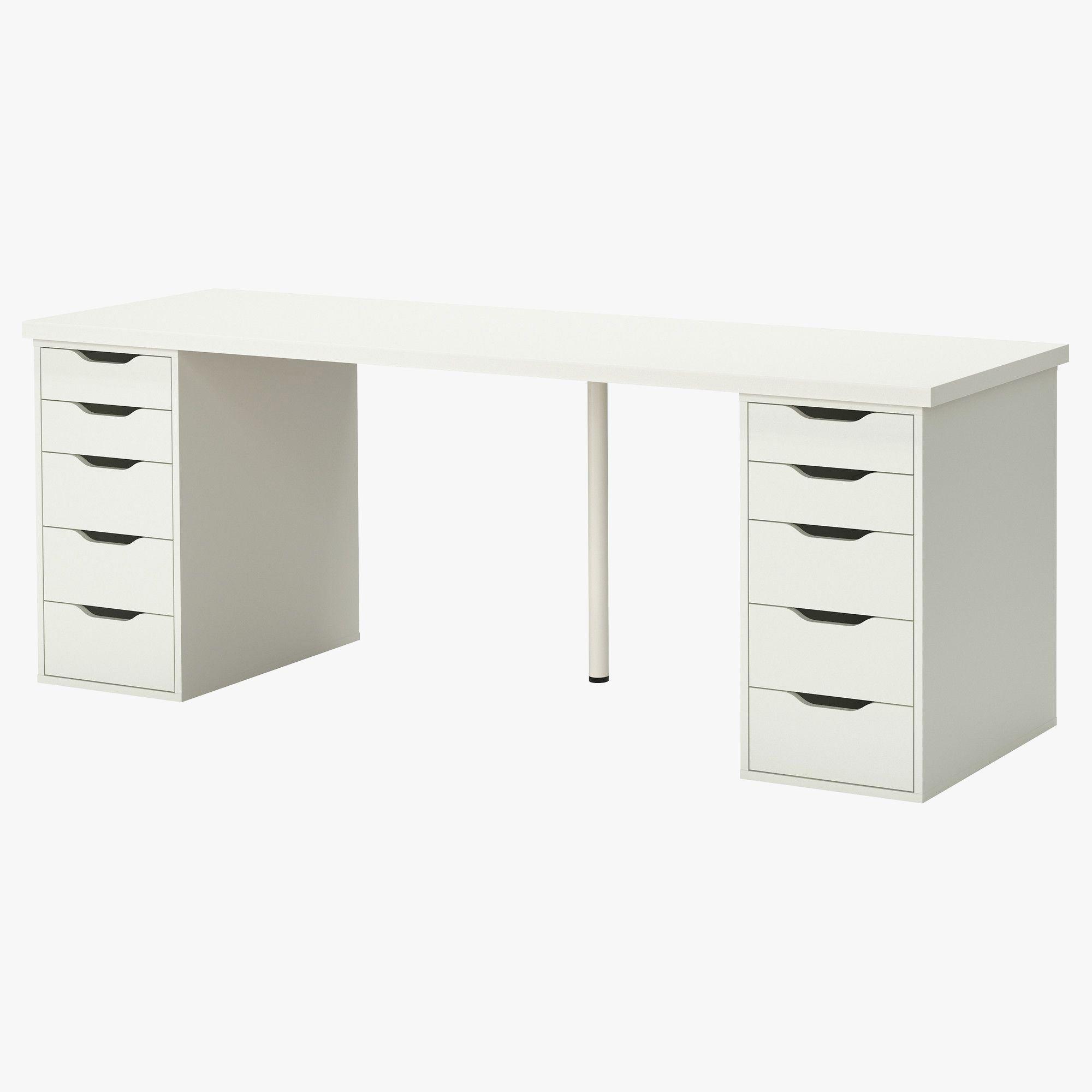 Billig Schreibtisch Kaufen Online Ikea Linnmon Schreibtisch Mit