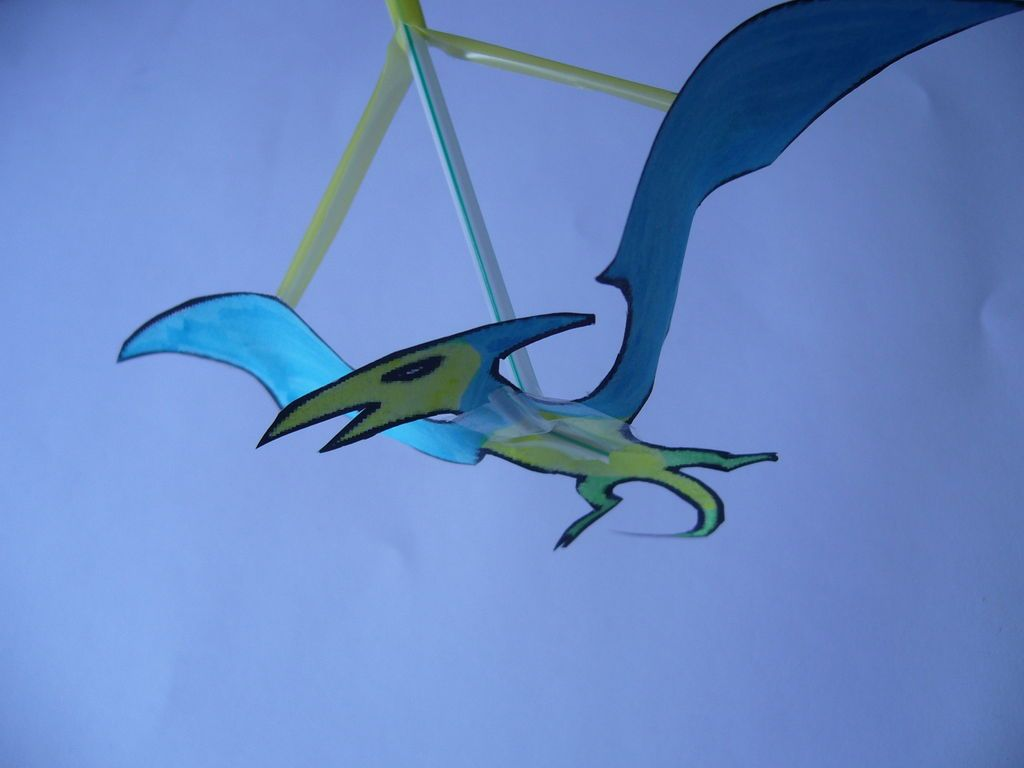 How to Make a Simple Flapping Pterodactyl Toy | Toy ... - photo#8
