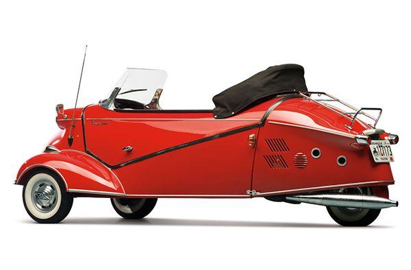 1957 Messerschmitt KR 201 Roadster 2 • TheCoolist - The Modern Design Lifestyle Magazine