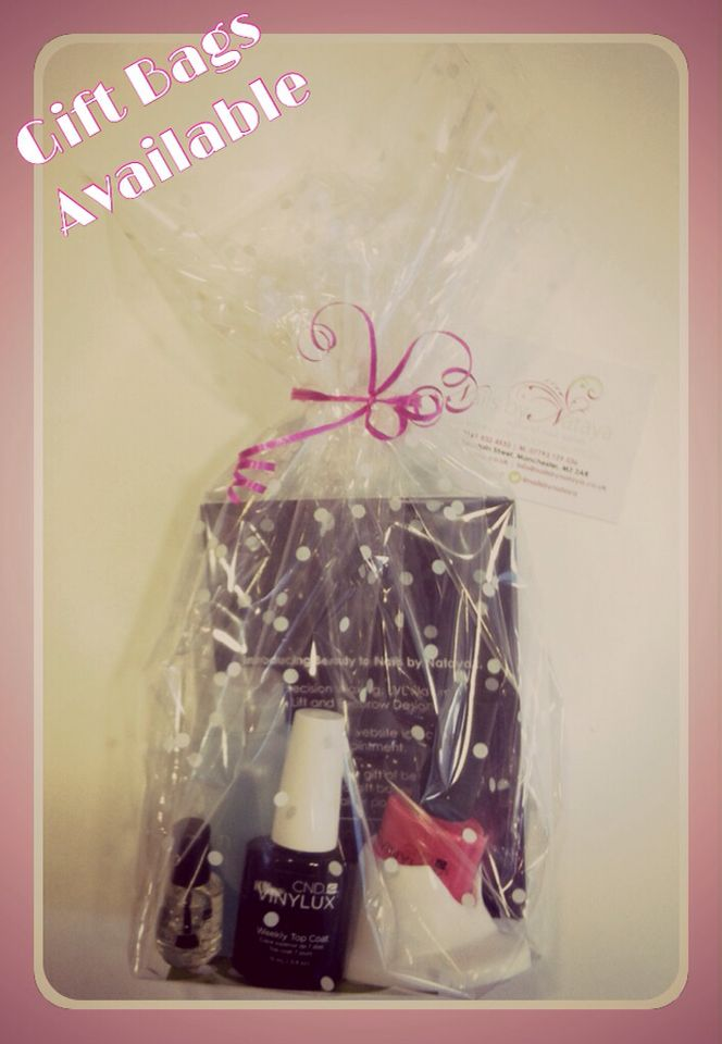 Create your own beauty #gift bag at #NailsbyNataya. A great girly ...