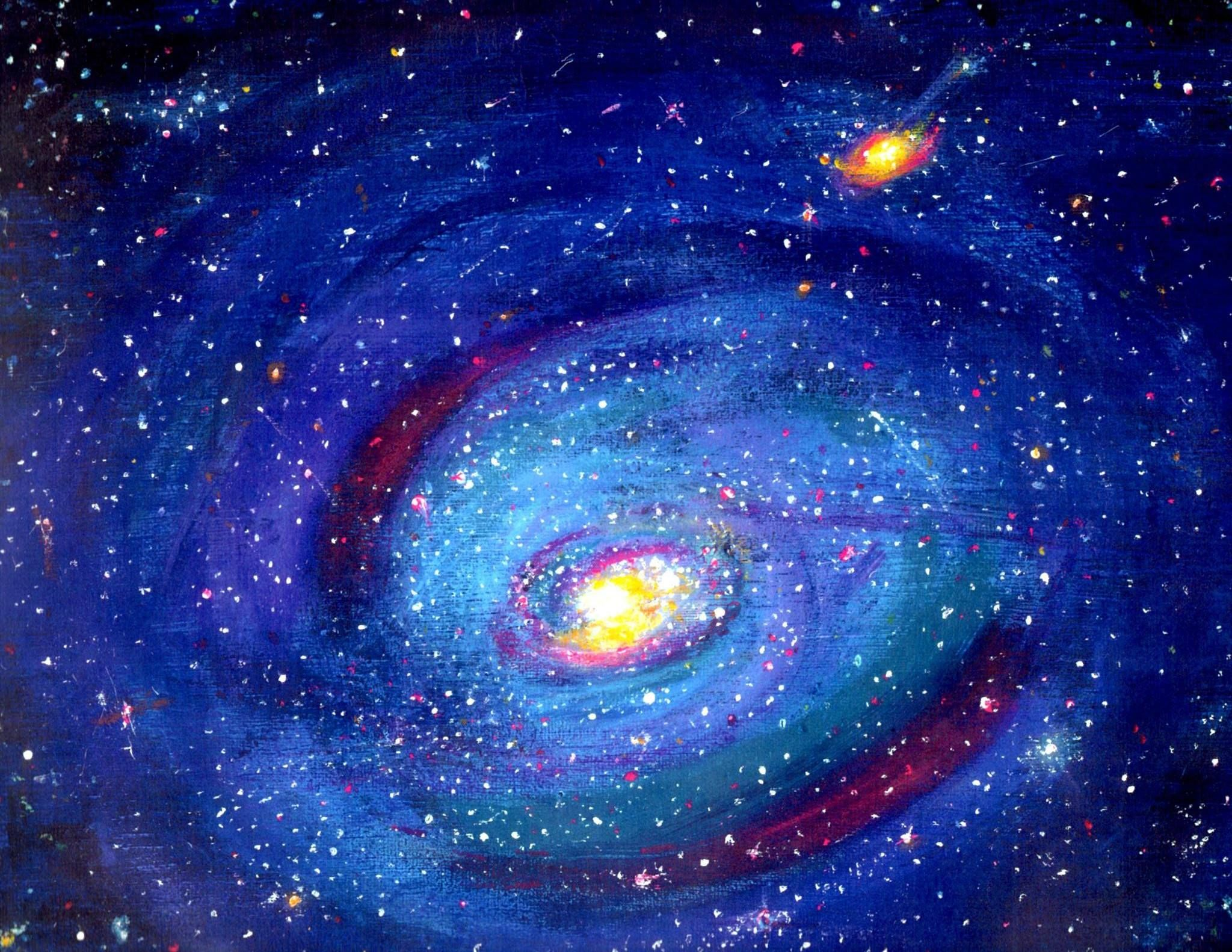 Star Gate ~ Art by Peggy D'Amato of Galaxy called Messiur ...