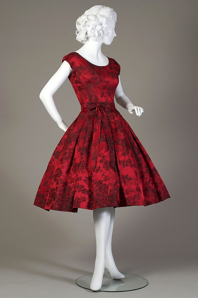 6224e08d9563c Cocktail dress, 1959 | Dresses | Dresses, Fashion, Vintage dresses
