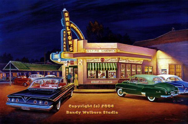1950s painting subjects 1950s 60s 70s painting subjects for 50 s diner exterior