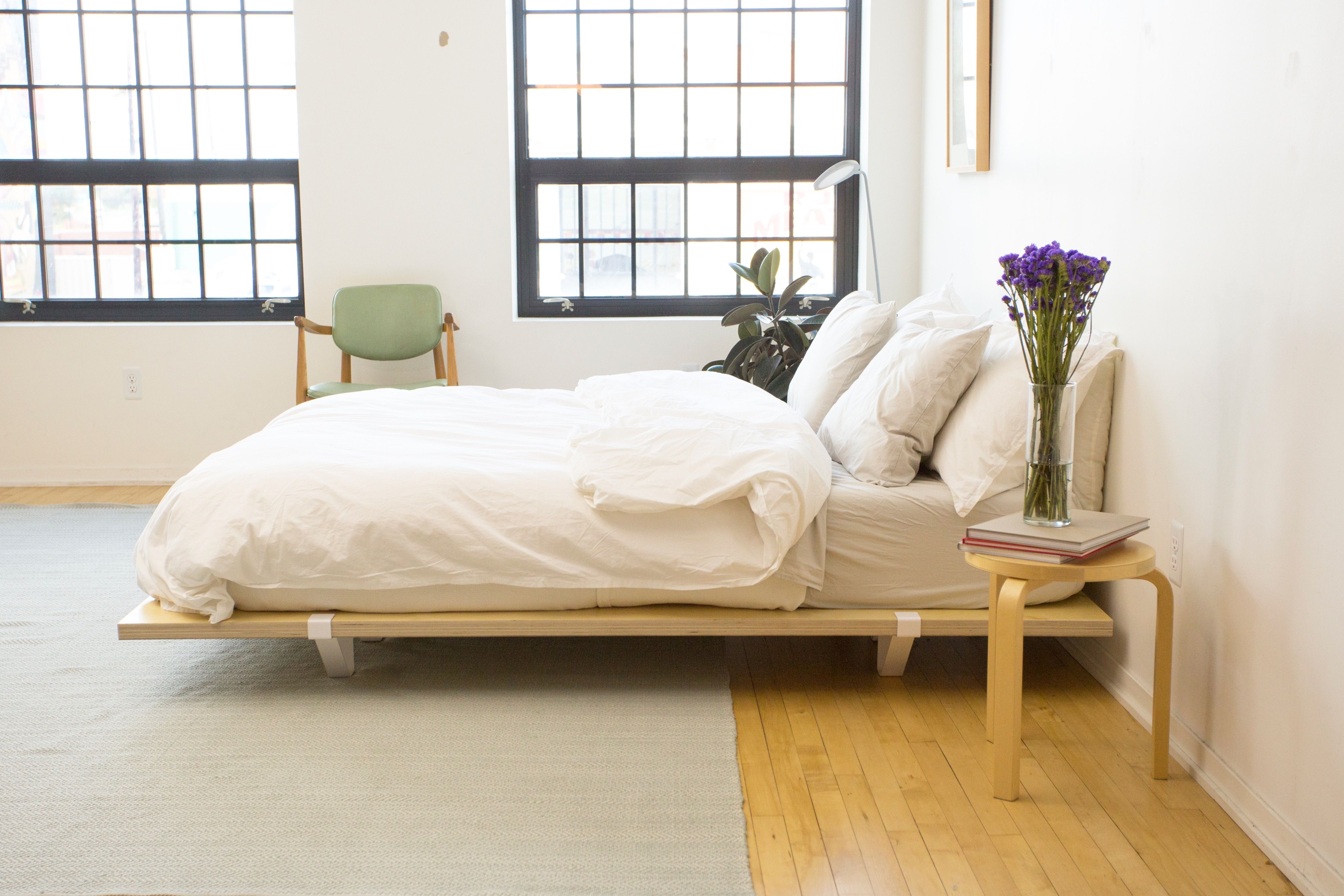 The Floyd Platform Bed Frame And Parachutehome Bedding Simple