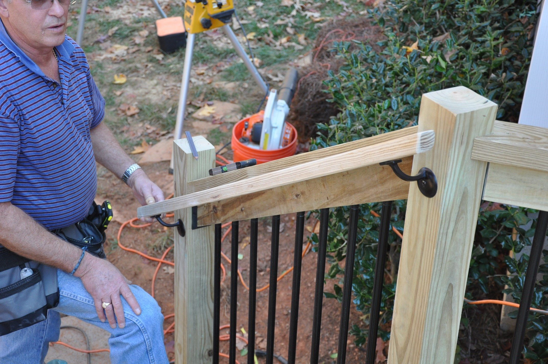 Best Step By Step Instructions For How To Install Deck Stair Railings Learn About The Code 400 x 300