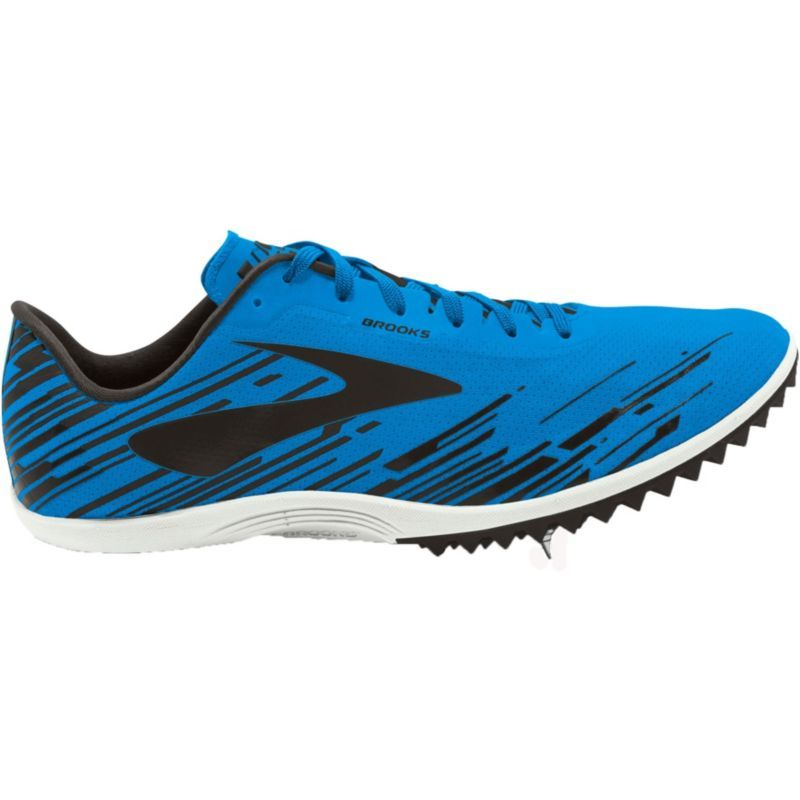 Brooks Men's Mach 18 Spikeless Track and Field Shoes, Blue