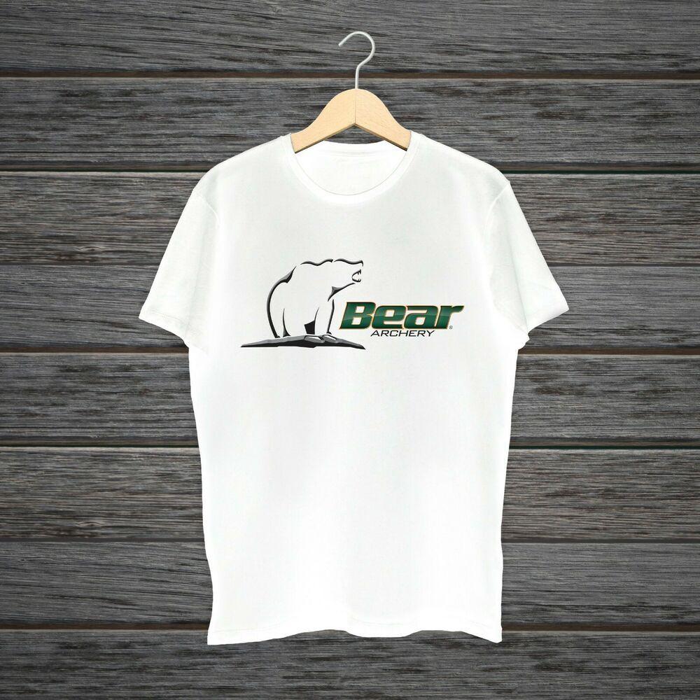 Bear Archery Logo Casual Style Short Sleeve S2XL Size