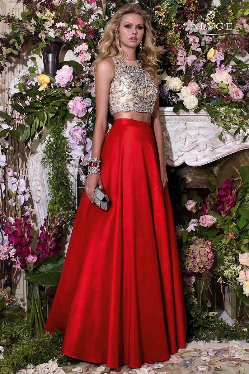 Prom dresses evening dresses by alyce parisucbrueucbruetwo piece