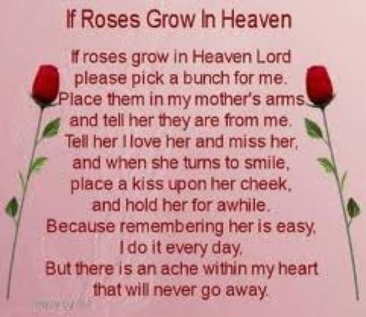 Happy Birthday Mom In Heaven | Photos in this Slideshow (94 ...