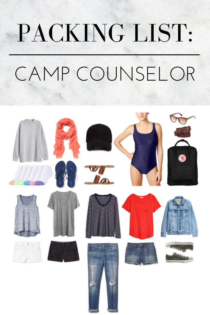 a2ec83f5f092 Camp counselor packing list: What to pack if you're a summer camp counselor