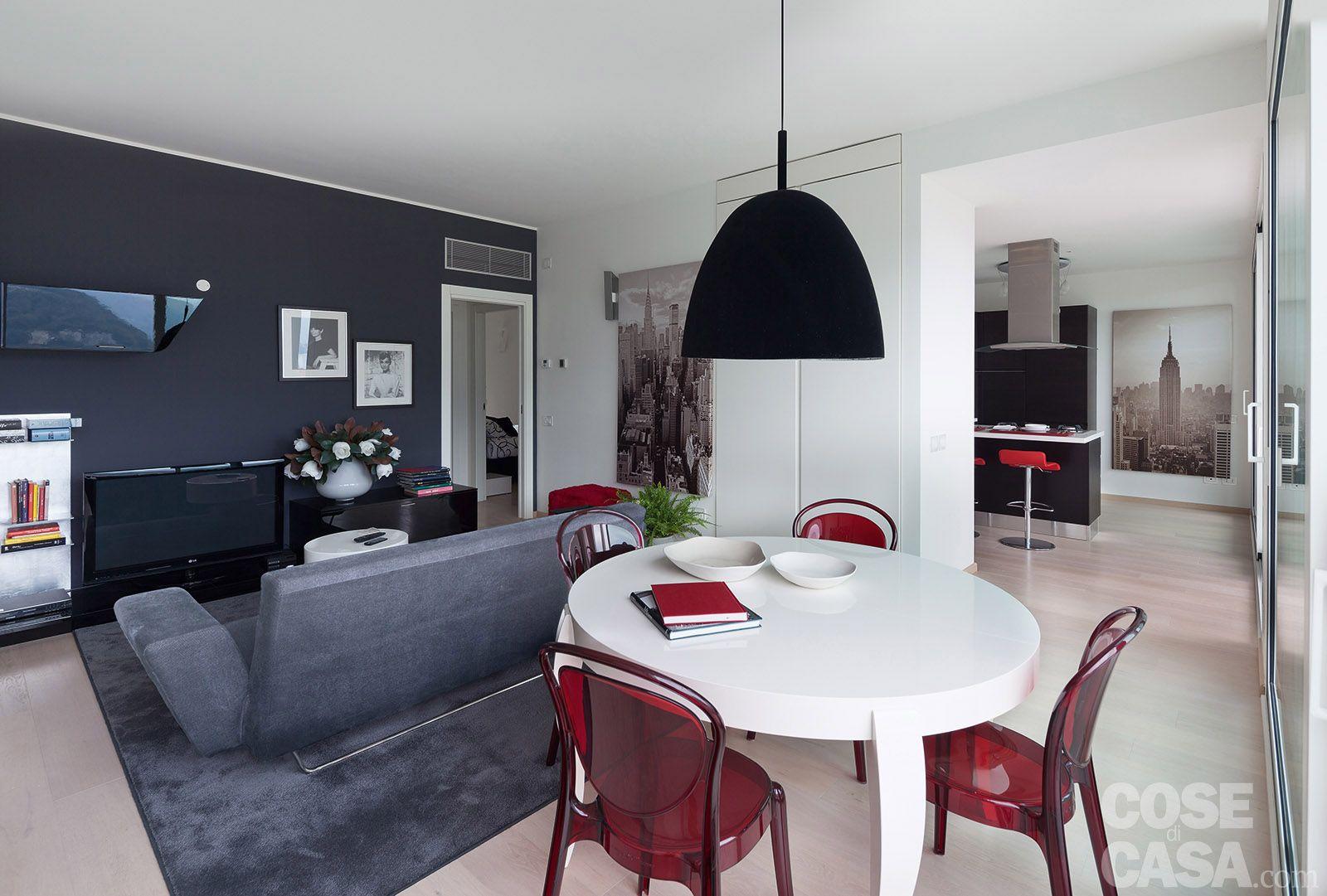 Tavolino soggiorno ~ Casa soggiorno tavolo rotondo arredamento spazi