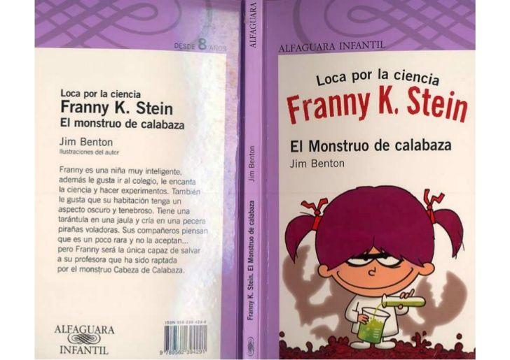 Loca Por La Ciencia Franny K Stein El Monstruo De Calabaza Ciencia Ciencia Loca Libros Digitales