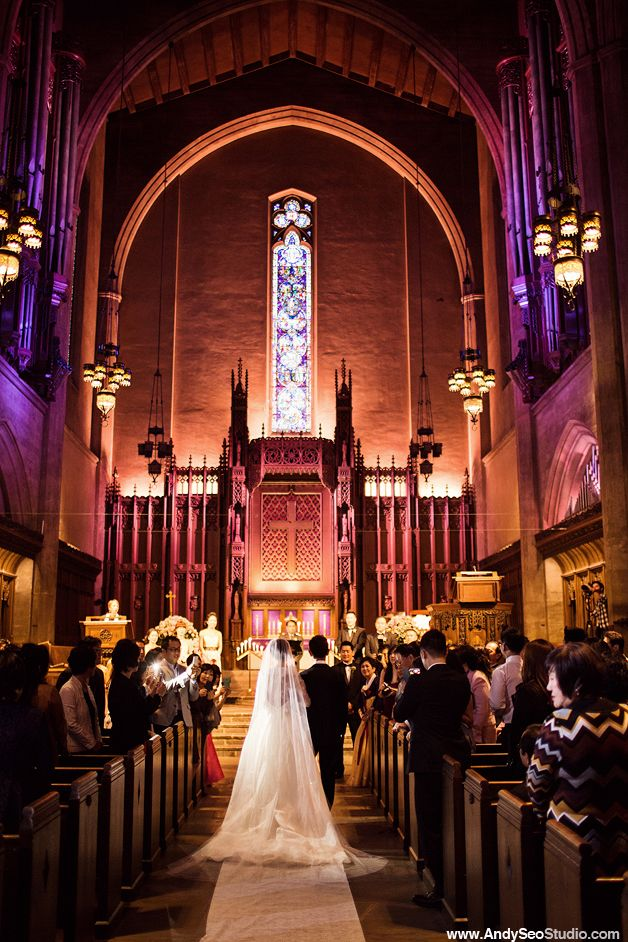 Beautiful Churches In Los Angeles First Congregational Church Of Wedding Angela Jonny