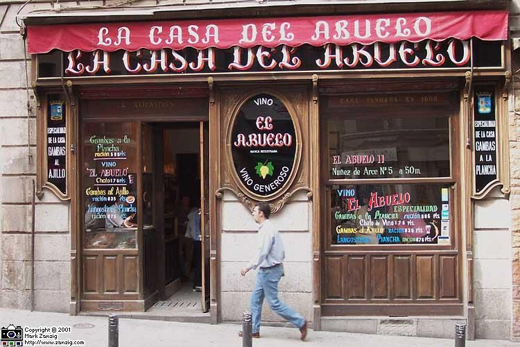 La Casa Del Abuelo 1906 Casa De Los Abuelos Madre Bar