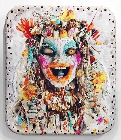 White Head 1 | Ashley Bickerton