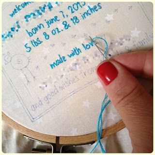 swimming in brine: embroidered quilt label tutorial. ... Best hand  embroidered tutorial