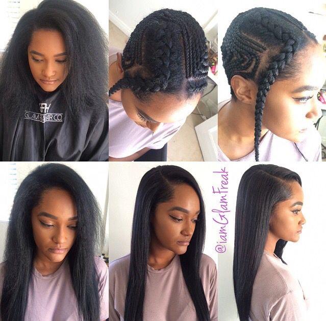 Lilshawtybad| | { UnBeWeavable } | Pinterest | Hair style, Braid ...