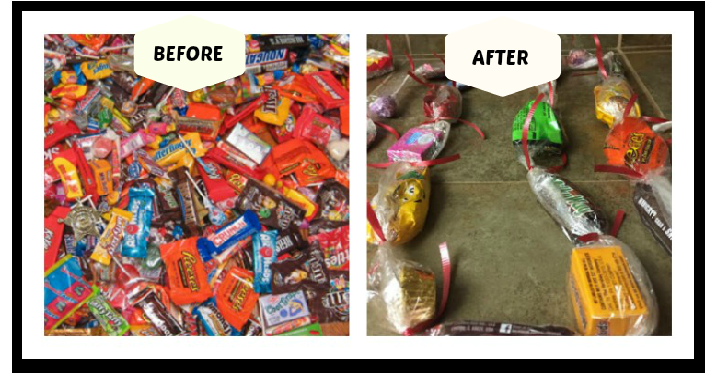 Now that Halloween is over, do you have a TON of candy